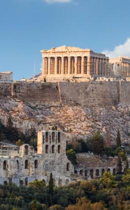 Sites archéologiques d'Épidaure, d'Olympie, de Delphes, de l'île de Délos et de l'acropole d'Athènes