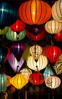 Atelier de fabrication de lanterne traditionnelle