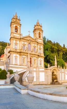 Sanctuaire du Bom Jesus à Braga