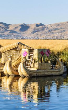 Découverte du lac Titicaca