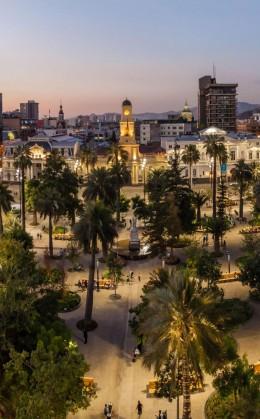 Visite des villes de Santiago, Punta Arenas et Valparaiso