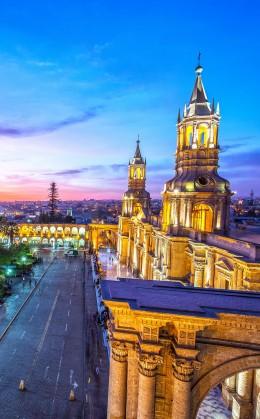 Soupers - spectacles à Arequipa et Cuzco
