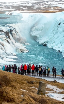 Les chutes de Gullfoss, Seljalandsfoss, Skogafoss, Dettifoss, Godafoss