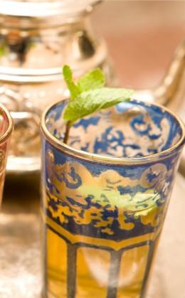 Dégustation de thé à Sidi Bou Said