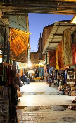 Les souks de la vieille ville de Jérusalem