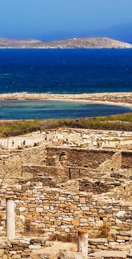 Excursion sur l'île de Délos