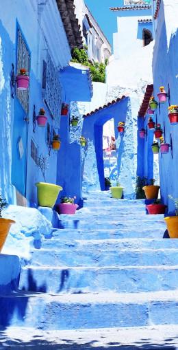 Promenade dans la ville bleue de Chefchaouen
