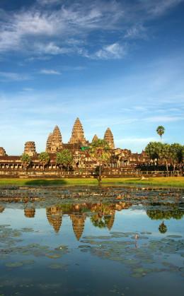Visite des ateliers d'artisans d'Angkor
