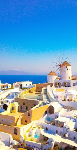 Santorin, l'île la plus romantique de la méditerranée