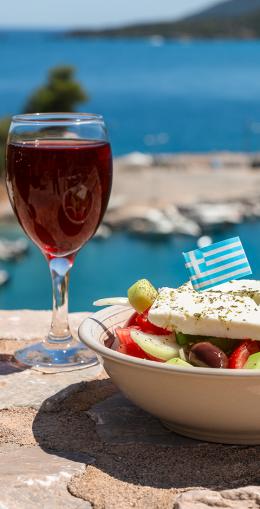 Dégustation des vins grecs