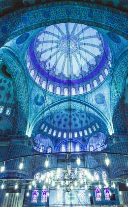 La basilique Sainte-Sophie, la Mosquée bleue et le palais de Topkapi