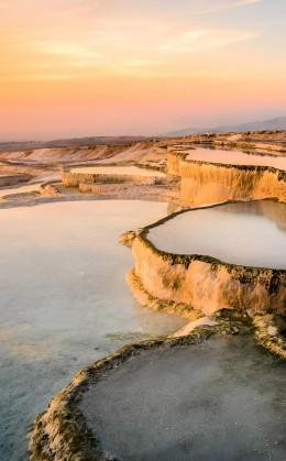 Pamukkale et ses sources d'eaux chaudes