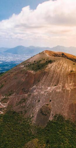 Ascension du Vésuve, pour accéder au cratère