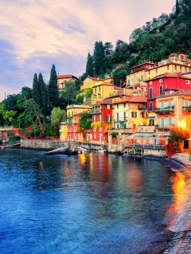 Beauté des lacs Italiens