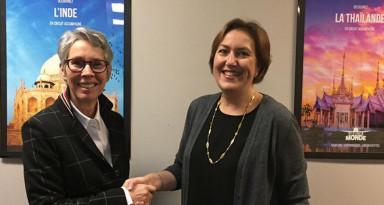 Message de Carole Lebrun, directrice générale d'Objectif Monde