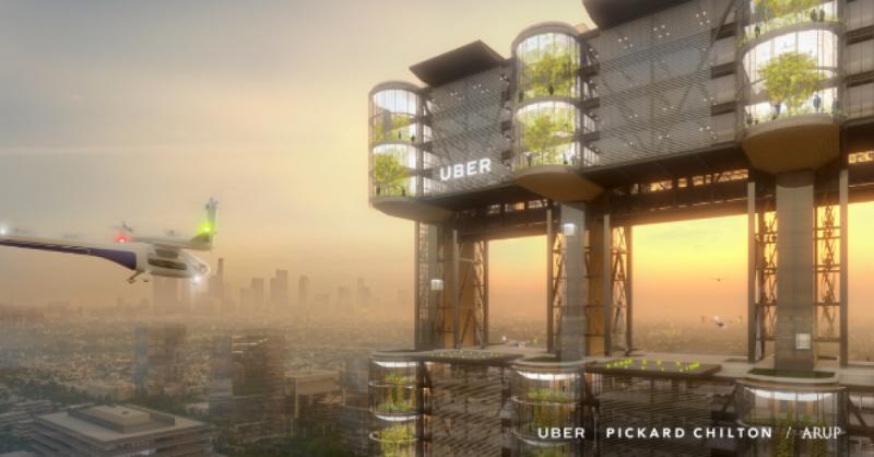 Uber se lance dans le taxi aérien