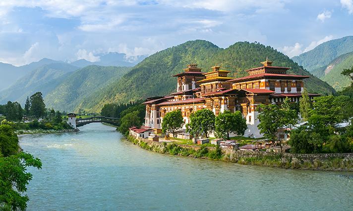 Monastère Bhoutan